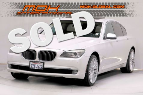 2011 BMW 740i - Original MSRP of $84225 - Service Records in Los Angeles