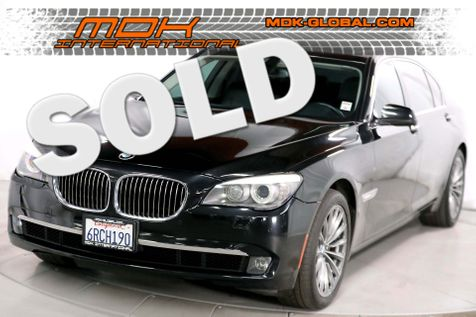 2011 BMW 740Li - Comfort seats - rear DVD entertainment in Los Angeles