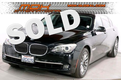 2011 BMW 740Li - Comfort seats - rear DVD entertainment in Los Angeles