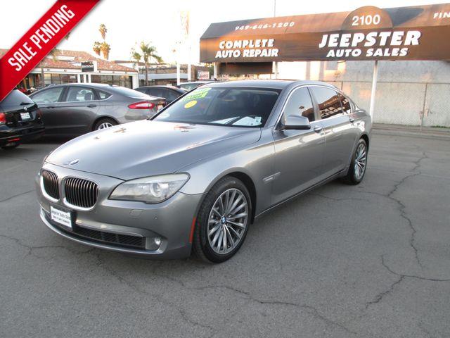 2011 BMW 750Li Sedan in Costa Mesa California, 92627