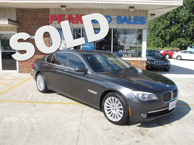 2011 BMW 750Li xDrive LXI