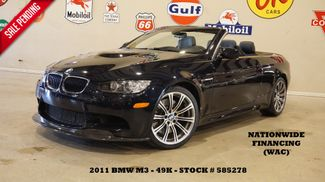 2011 BMW M3 CONV. PWR TOP,NAV,HTD LTH,19IN WHLS,49K,WE FINANCE in Carrollton, TX 75006