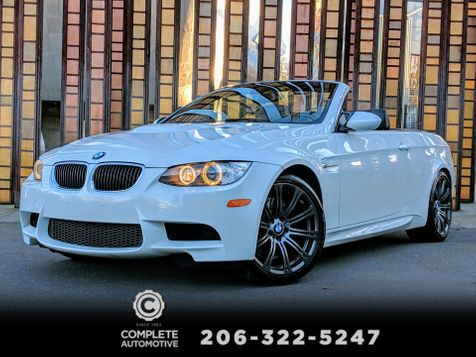 2011 BMW M3 Convertible Convenience Premium 2 Packages Only 57,000 Miles in Seattle