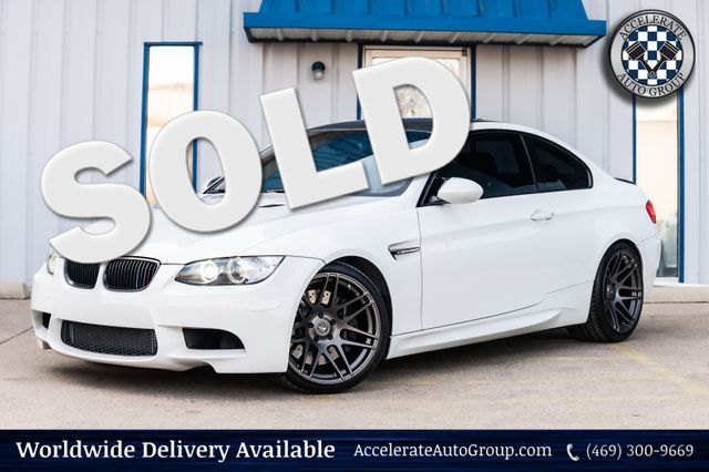 2011 BMW M3 Tasteful Upgrades in Rowlett