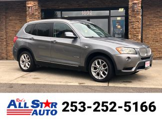 2011 BMW X3 xDrive35i in Puyallup Washington, 98371