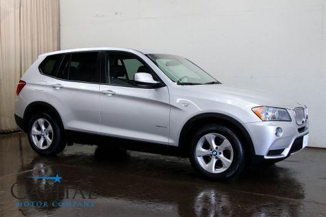 2011 BMW X3 xDrive28i AWD Sport Crossover w/Keyless Start, Side Sunshades, Bluetooth Audio & 17-Inch Wheels in Eau Claire