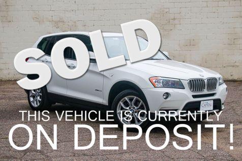 2011 BMW X3 xDrive35i AWD Sport Crossover w/Panoramic Roof, Keyless Start, Heated F/R Seats & 18