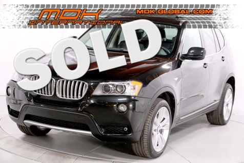 2011 BMW X3 xDrive35i 35i - Top View cams - Navigation - Sport pkg in Los Angeles