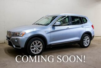 2011 BMW X3 xDrive35i AWD w/Panoramic Roof, Heated Seats,  in Eau Claire, Wisconsin