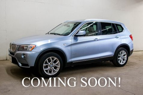 2011 BMW X3 xDrive35i AWD w/Panoramic Roof, Heated Seats,  Heated Steering Whee & Bluetooth Phone Streaming in Eau Claire
