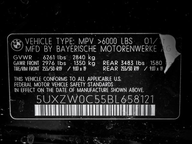 2011 BMW X5 xDrive35d 35d Burbank, CA 31