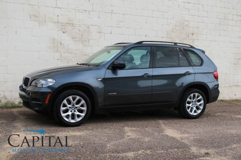 2011 BMW X5 xDrive35i AWD w/Navigation, Backup Cam, Heated Seats, 4-Zone A/C, Panoramic Roof & Xenons in Eau Claire