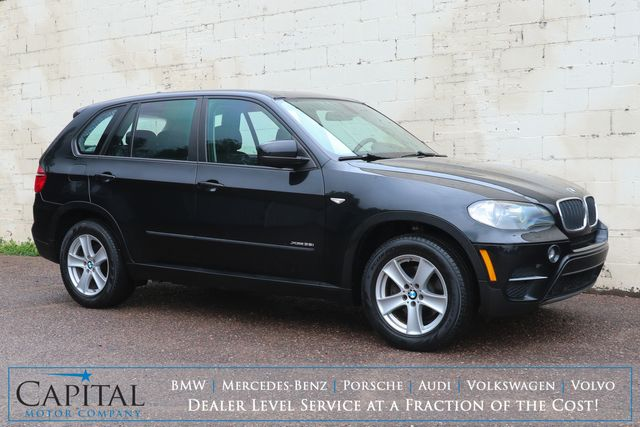 2011 BMW X5 xDrive35i AWD Luxury Crossover w/Nav, Panoramic Moonroof, Heated Seats & Music HDD in Eau Claire, Wisconsin 54703