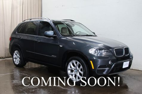 2011 BMW X5 xDrive35i AWD Sport SUV w/Heated Seats, Panoramic Roof, Xenon HIDs & Two-Tone Interior in Eau Claire