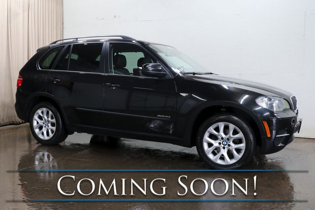 2011 BMW X5 xDrive35i AWD Luxury Crossover w/Panoramic Roof, Heated Seats, Bluetooth Audio & Tow Pkg