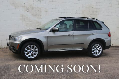 2011 BMW X5 xDrive35i AWD Sport SUV w/Panoramic Moonroof, Cold Weather Pkg, Rear Climate Pkg & 19-Inch Rims in Eau Claire
