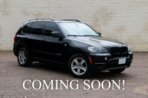 2011 BMW X5 xDrive35i Premium AWD w/Navigation, Cold Weather Pkg, Keyless Start & Panoramic Roof in Eau Claire