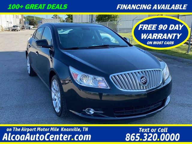 "2011 Buick LaCrosse CXS w/Leather/Sunroof/Navigation/19"" Wheels"