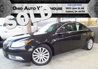 2011 Buick Regal CXL Turbo Sunroof Leather Clean Carfax We Finance | Canton, Ohio | Ohio Auto Warehouse LLC in Canton Ohio
