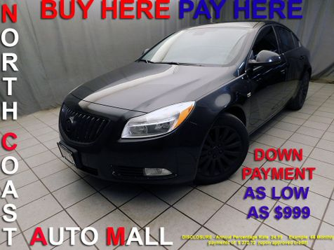2011 Buick Regal CXL RL1As low as $999 DOWN in Cleveland, Ohio