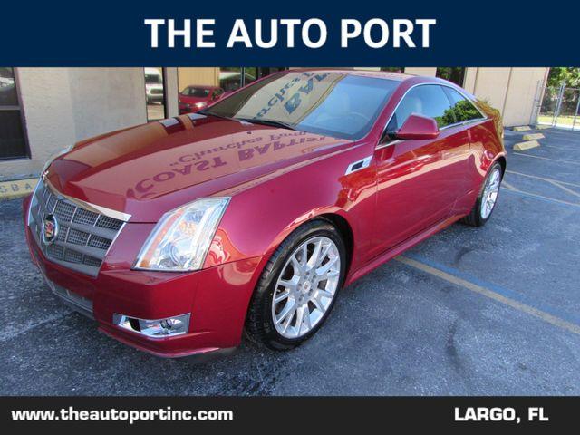 2011 Cadillac CTS Coupe Premium W/NAVI