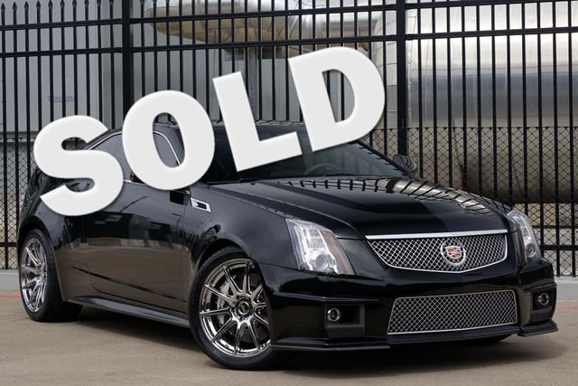 2011 Cadillac CTS CTS-V * COUPE * 1-Owner * AUTOMATIC * Recaro Seats Plano, Texas