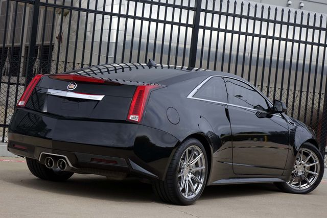 2011 Cadillac CTS CTS-V * COUPE * 1-Owner * AUTOMATIC * Recaro Seats Plano, Texas 4