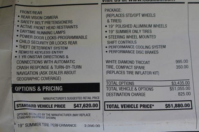 2011 Cadillac CTS Sedan Premium RWD - PERFORMANCE PKG - NAV - SUNROOFS! Mooresville , NC 49