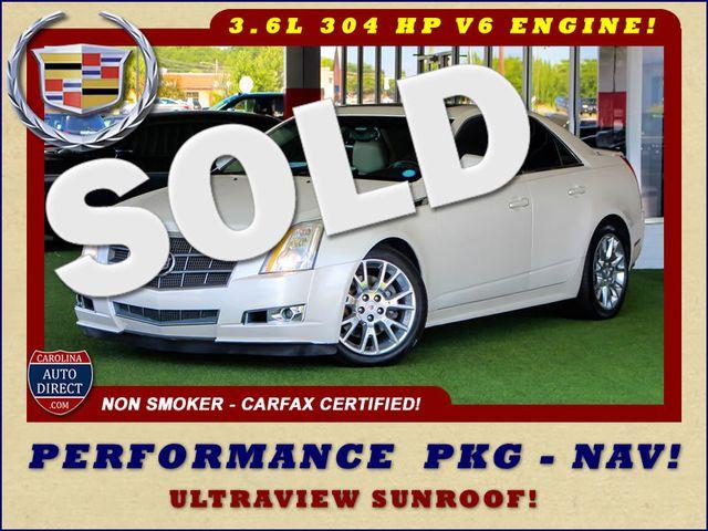 2011 Cadillac CTS Sedan Premium RWD - PERFORMANCE PKG - NAV - SUNROOFS! Mooresville , NC 0