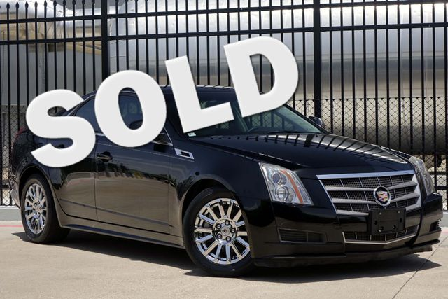 2011 Cadillac CTS Sedan Luxury * 1-OWNER * Chrome Wheels * BOSE * BU Cam Plano, Texas
