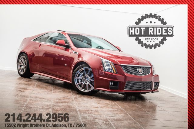 2011 Cadillac CTS-V Coupe Cammed With Many Upgrades