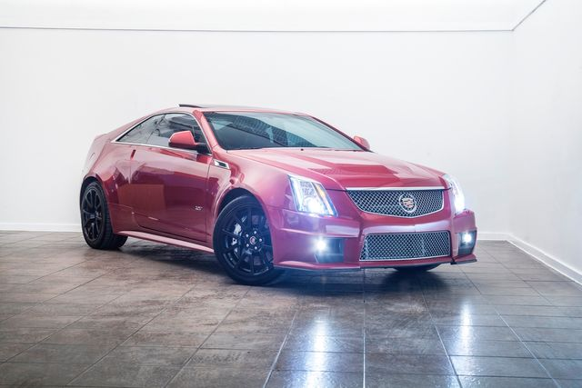 2011 Cadillac CTS-V Coupe With Many Upgrades in Addison, TX 75001