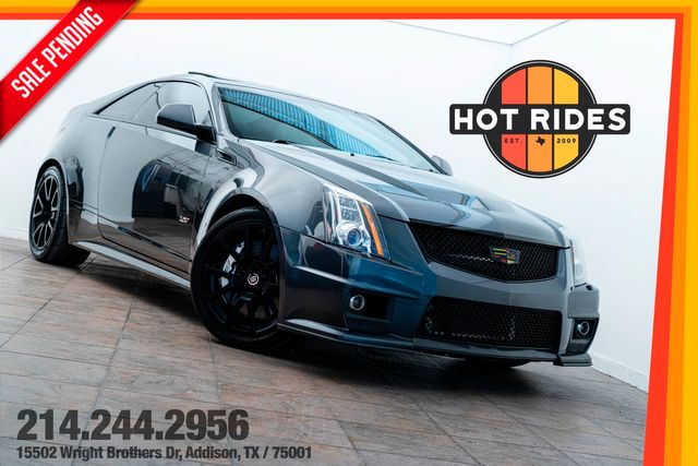 2011 Cadillac CTS-V Coupe 6-Speed With Upgrades