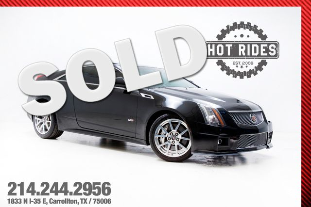 2011 Cadillac CTS-V Coupe With Many Upgrades 600+HP
