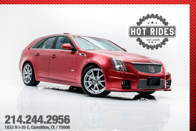 2011 Cadillac CTS-V Wagon Rare 6-Speed Manual