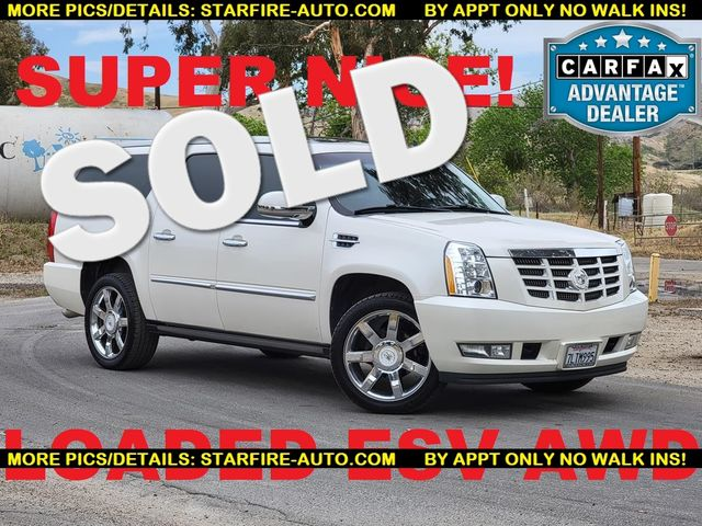 2011 Cadillac Escalade ESV Premium Santa Clarita, CA