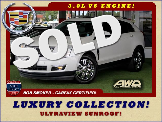 2011 Cadillac SRX Luxury Collection AWD - ULTRAVIEW SUNROOFS! Mooresville , NC 0