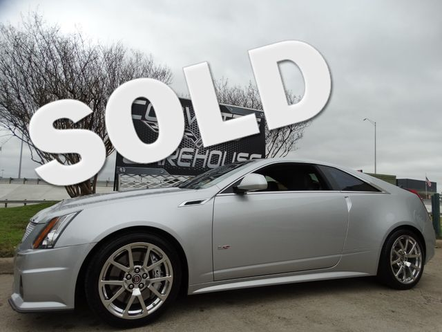 2011 Cadillac V-Series  Coupe Auto, NAV, Sunroof, Alloys, Only 67k! | Dallas, Texas | Corvette Warehouse  in Dallas Texas
