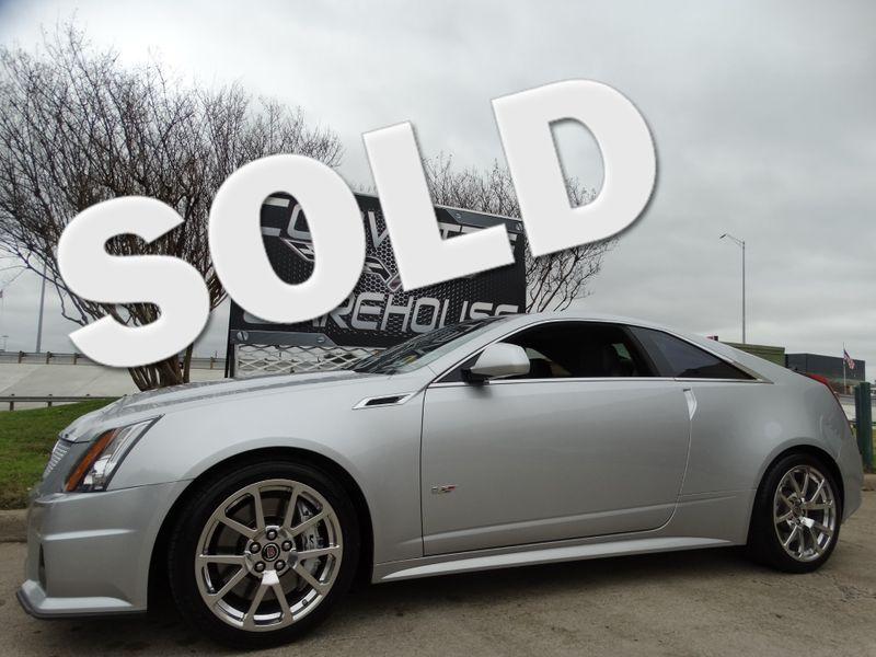 2011 Cadillac V-Series  Coupe Auto, NAV, Sunroof, Alloys, Only 67k! | Dallas, Texas | Corvette Warehouse
