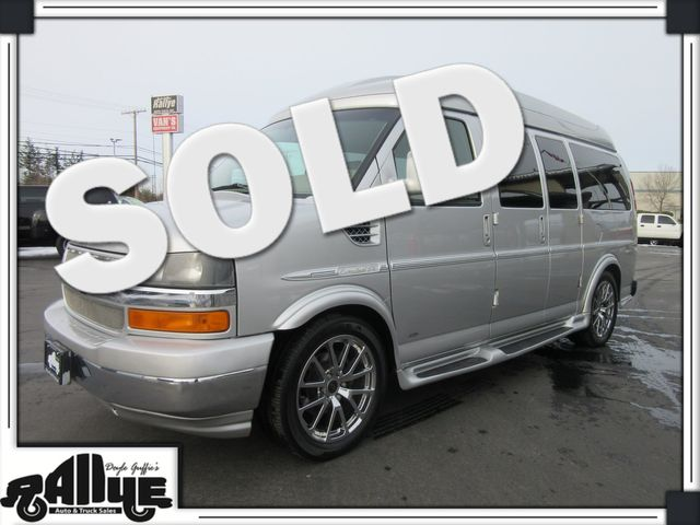 2011 Chevrolet 1500 YF7 Upfitter Explorer Express Van AWD