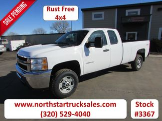 2011 Chevrolet 2500HD 4x4 Ex-Cab Pickup in St Cloud, MN