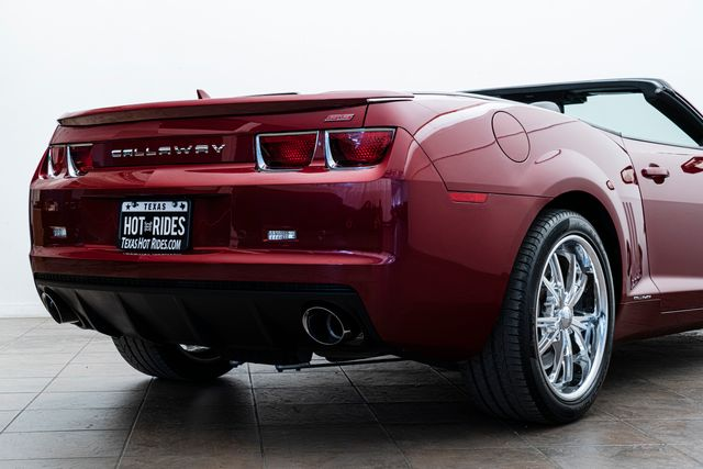 2011 Chevrolet Callaway SC-572 Camaro SS 2SS Supercharged in Addison, TX 75001