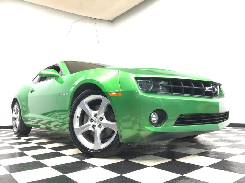 2011 Chevrolet Camaro *Lime Green Camaro SS*6 Speed Manual*New Tires!* | The Auto Cave
