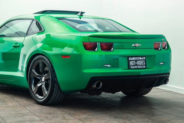 2011 Chevrolet Camaro SS 2SS in Synergy Green Procharged With Upgrades in Addison, TX 75001