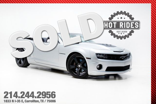 2011 Chevrolet Camaro SS 2SS Convertible Cammed With Many Upgrades
