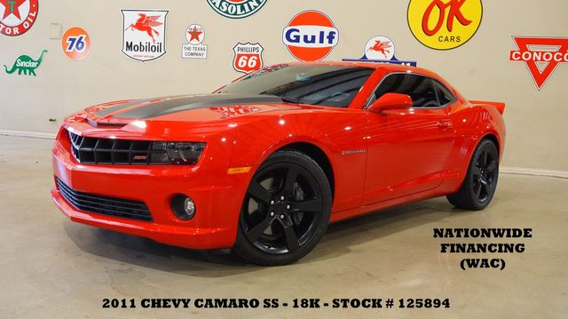 2011 Chevrolet Camaro 2SS Coupe 6 SPD,SUPERCHARGED,MOTOR MODS,18K