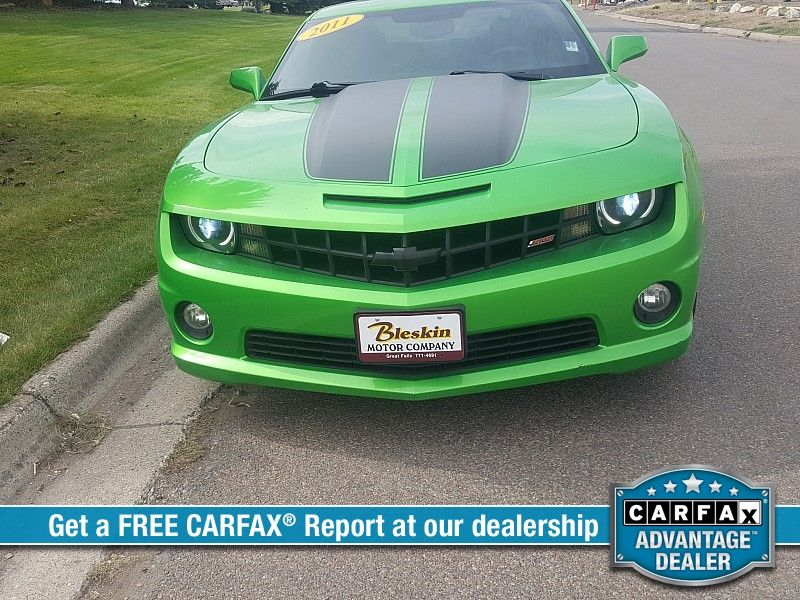 2011 Chevrolet Camaro 2d Coupe SS2  city MT  Bleskin Motor Company   in Great Falls, MT