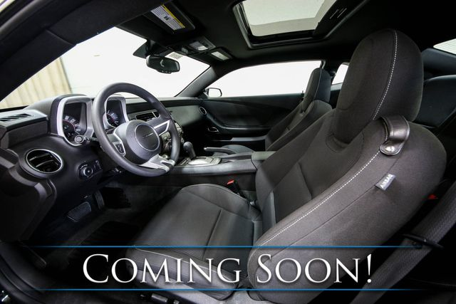 """2011 Chevrolet Camaro LT Coupe w/Power Moonroof, Bluetooth, Aux Audio, 18"""" Wheels & VERY Low Miles in Eau Claire, Wisconsin 54703"""
