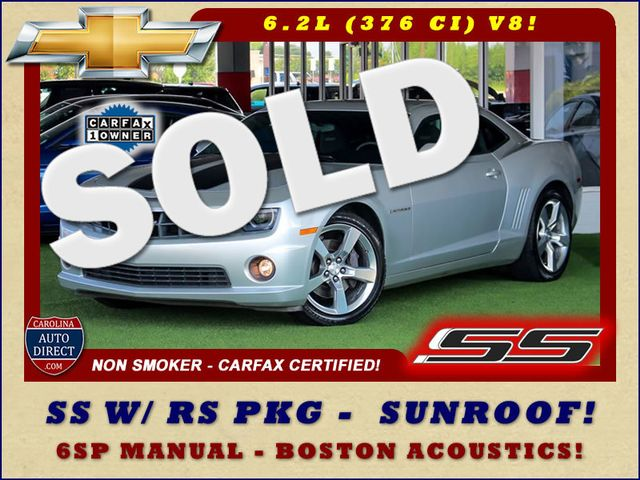 2011 Chevrolet Camaro 1SS/SS RS - SUNROOF -  BOSTON ACOUSTICS - 1 OWNER! Mooresville , NC