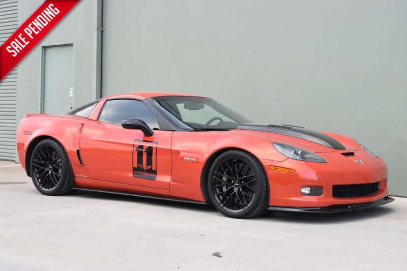 2011 Chevrolet Corvette Z06 Carbon Edition Callaway SC652 | Arlington, TX | Lone Star Auto Brokers, LLC